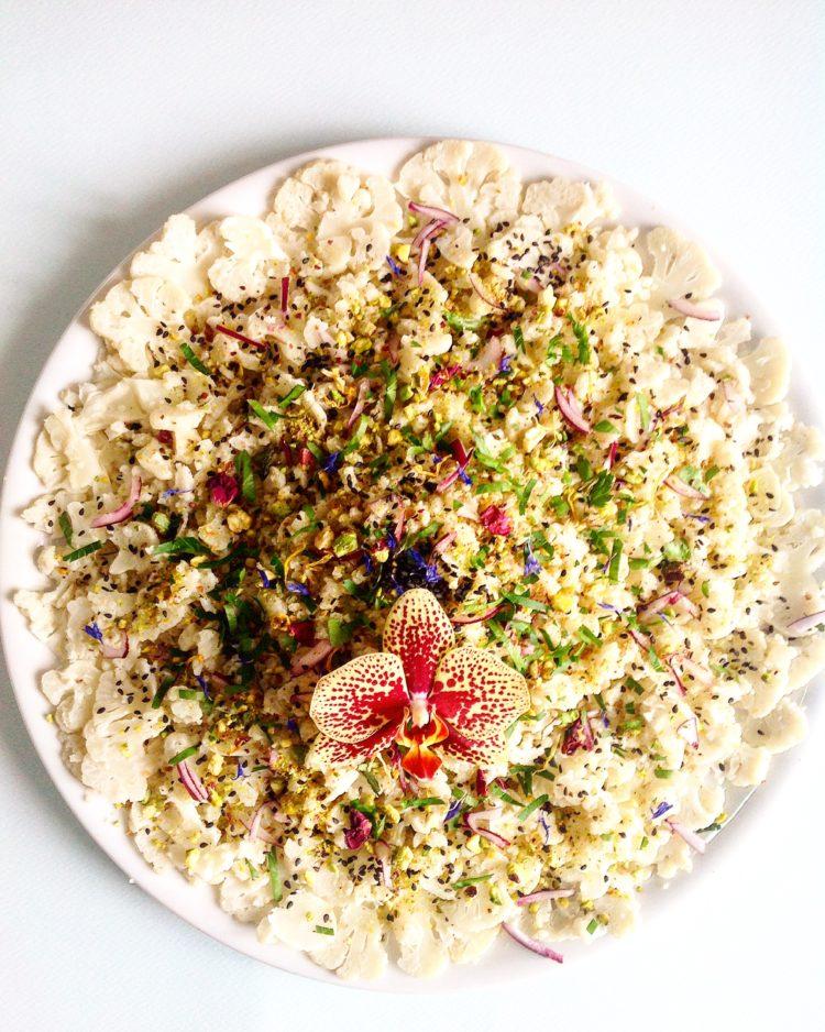 La recette du chou fleuri de Sandra