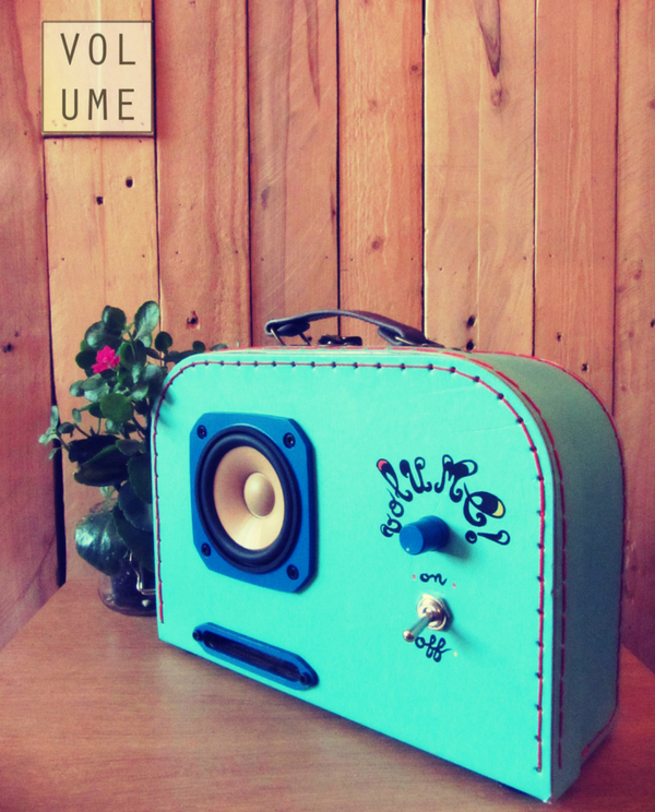 Image produit Little tune valise musicale jack volume creation cable sound radyoga.fr