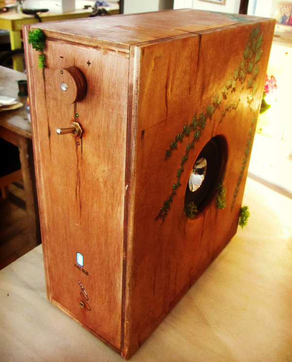 image produit la vegetale woodbox boite musicale music box radyooga.fr volume creation