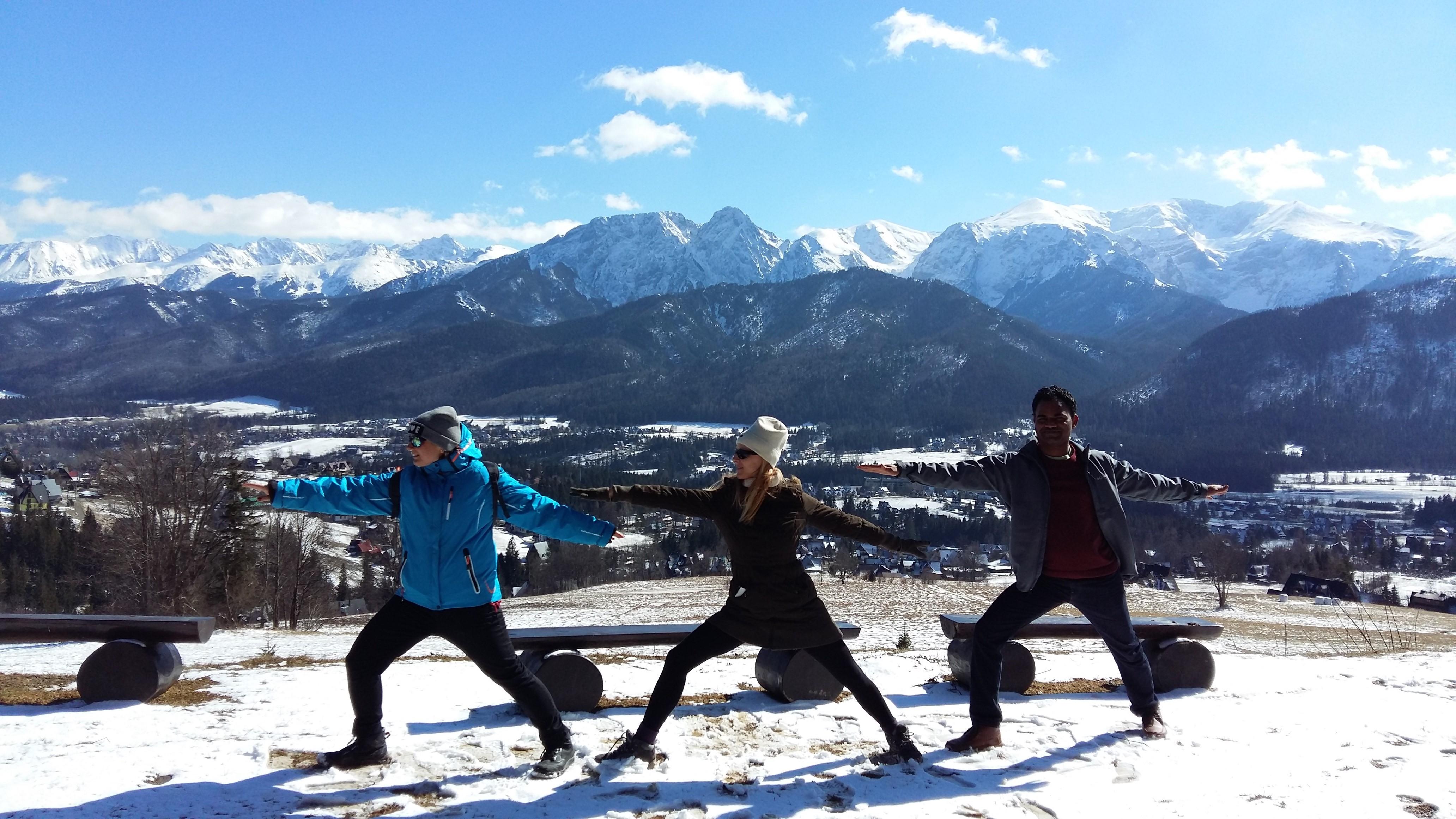 Retraite de yoga dans les montagnes polonaises – Mars 2018